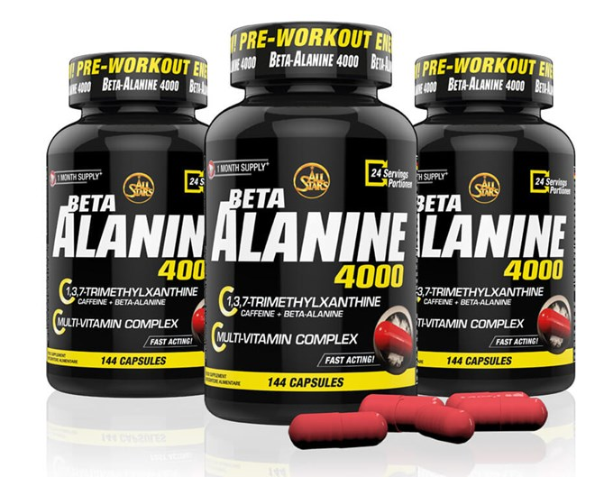 All-Stars Beta Alanine 144 capsules