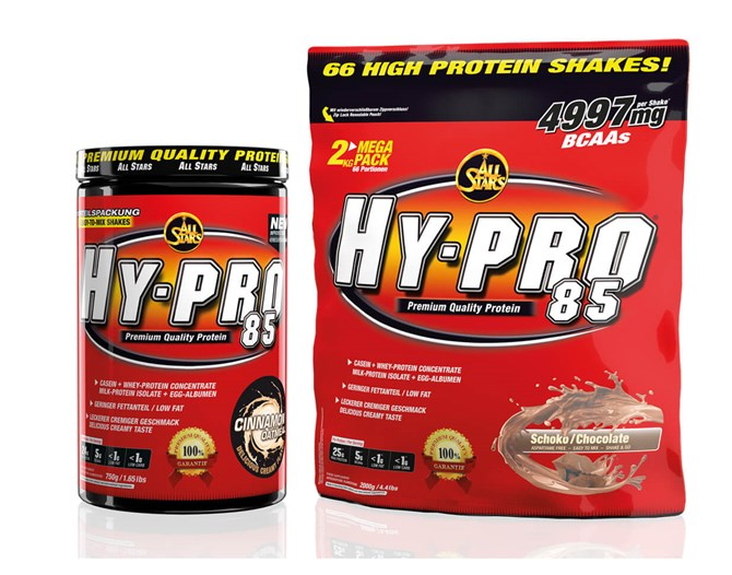 All Stars Hy-Pro 85 Vanilla Powder 500 gr.